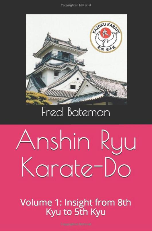 Anshin Ryu Book Vol 1 Front Cover