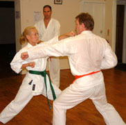 Senior Anshin Ryu Karate